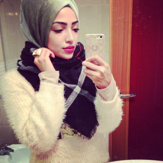 Perfect for winter. #hijab