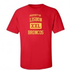 Lisbon High School - Lisbon, ND | Men's T-Shirts Start at $21.97
