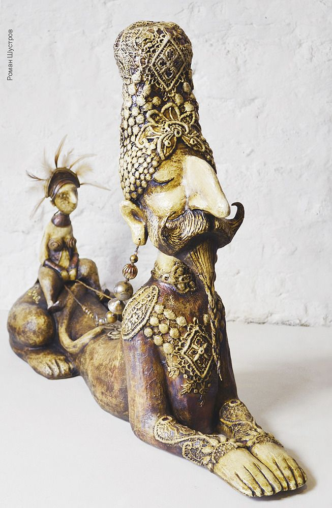 "Кукольная скульптура ""Нарасимха"", автор Роман Шустров"