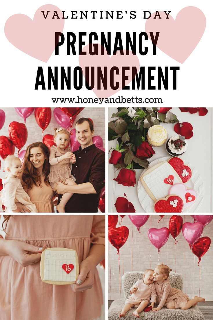 Cute Pregnancy Announcement Valentine S Day Ideas Everything Baby