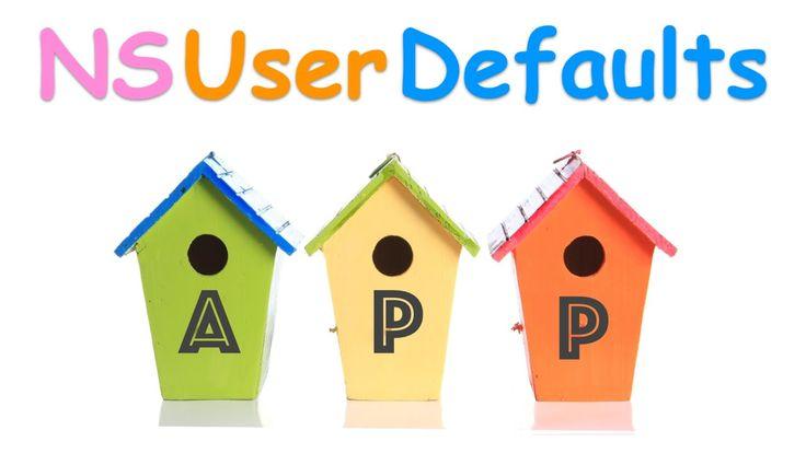 Swift Programming Language Tutorial :  App : Persistent Data: NSUserDefa...