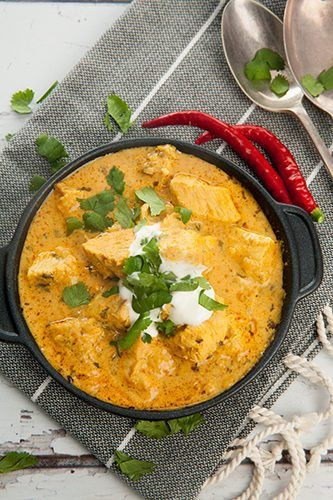 Thermomix Creamy Chicken Curry