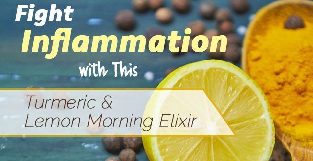 Fight Inflammation with This Turmeric and Lemon Morning Elixir | www.thenutritionwatchdog.com
