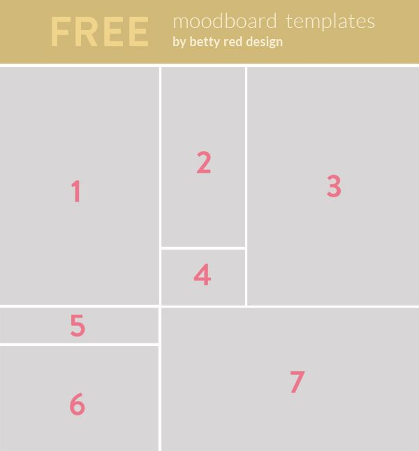 Free Moodboard Templates Tutorial