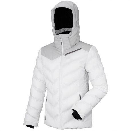 La poudreuse comme terrain de jeu !  Conçue pour les skieuses freeride, la veste de ski LD Heiden Jkt apporte confort et chaleur sur les pentes enneigées.