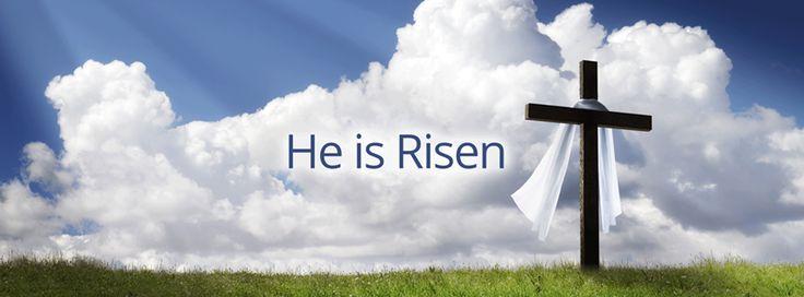 hallelujah he is risen facebook banner - Google Search ...
