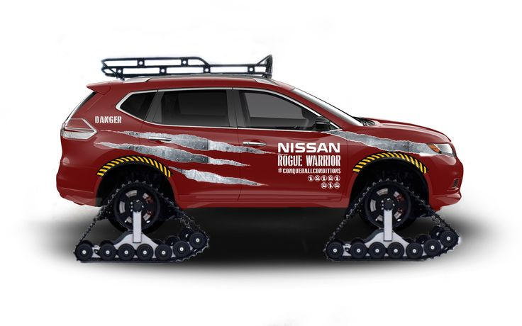 2016 Nissan Rogue Warrior