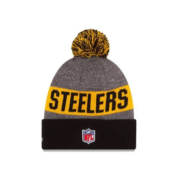Picture of Pittsburgh Steelers New Era Sideline Sport Knit Hat