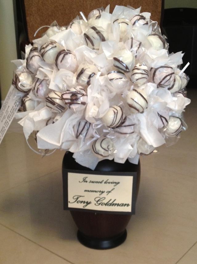 71 best Cake pops bouquet images on Pinterest | Cake pop bouquet ...