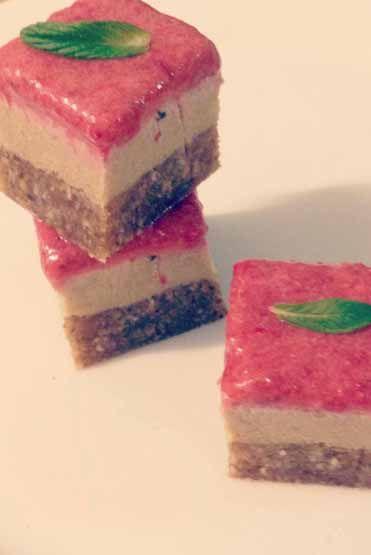 Superfood Strawberry Cheesecake