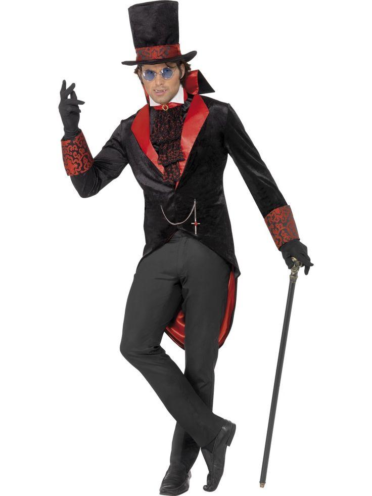 Dracula. Naamiaisasuna Draculan asu on tunnistettava ja se sopii niin teemabileisiin kuin gootti- ja halloweenjuhliinkin.