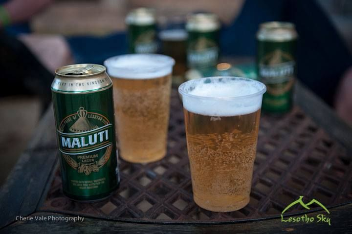 Lesotho Sky with Maluti Mountain Brewery