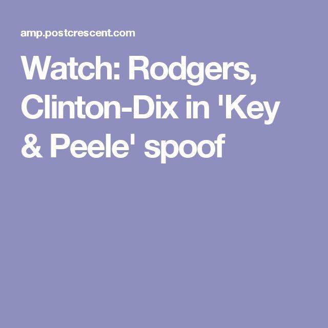 Watch: Rodgers, Clinton-Dix in 'Key & Peele' spoof