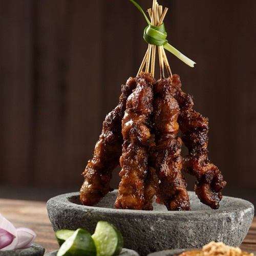 Indonesian chicken satay | Food and Happiness | Pinterest | Beef Satay ...