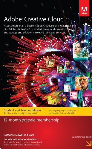 Adobe Creative Cloud Student and Teacher Edition Prepaid Membership 12 Month by Adobe, http://www.amazon.com/dp/B0096DZL10/ref=cm_sw_r_pi_dp_Bra.sb1CXZ9K8