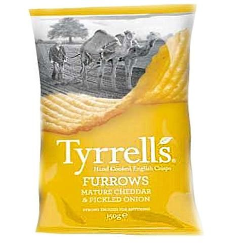 Tyrrells | Mature Cheddar & Pickled Onion Crisps
