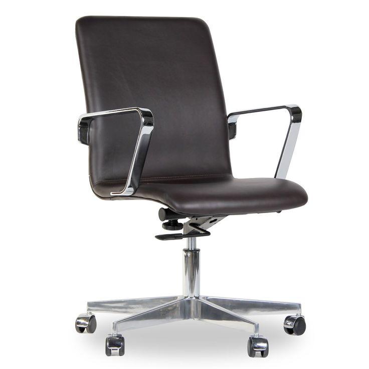Silla OXFORD -Premium Leather- (Sillas de oficina) - Oxford Sillas de diseño, mesas de diseño, muebles de diseño, Modern Classics, Contemporary Designs...