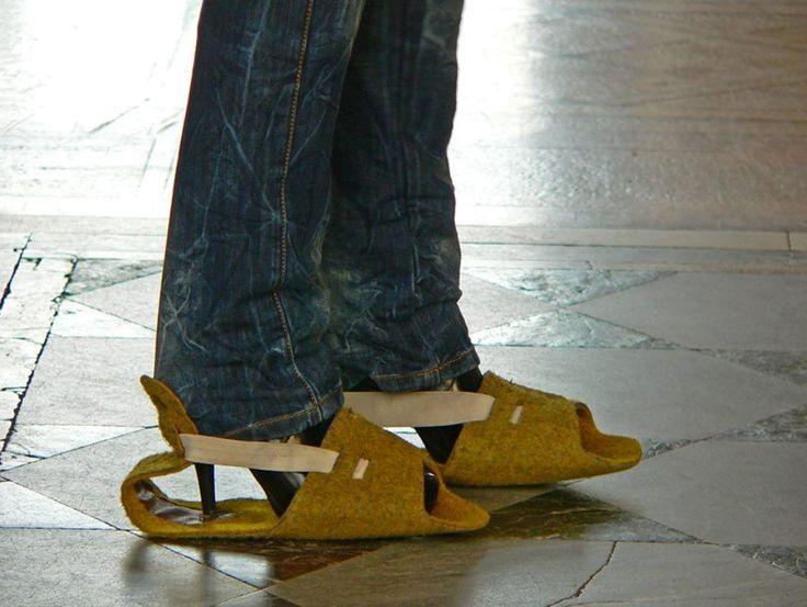 Schuhmode aus russischen Museen