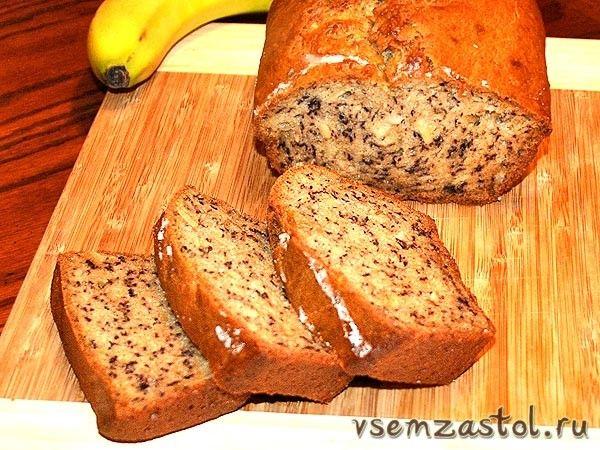 Банановый кекс (Banana Bread)