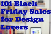 101 Black Friday & Cyber Monday Sales for Design Lovers   Apartment Therapy