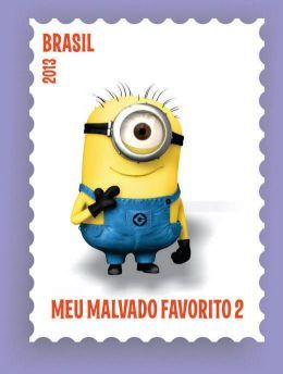 Brazil stamps 2013 | Gru and his companions'
