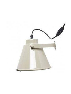 Grijs Metalen Wandlampje - Housedoctor