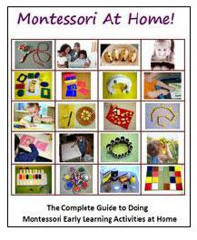 """I had high hopes of sending my child (and eventually children) to a Montessori school but the pricetag is a bit higher than I would hope.  I may purchase this ebook to implement/create a """"Montessori at home"""" environment.: At Home, Montessori Homeschool, Early Learning, Learning Activities, Montessori Ideas, Kids, Preschool, Ebook"""