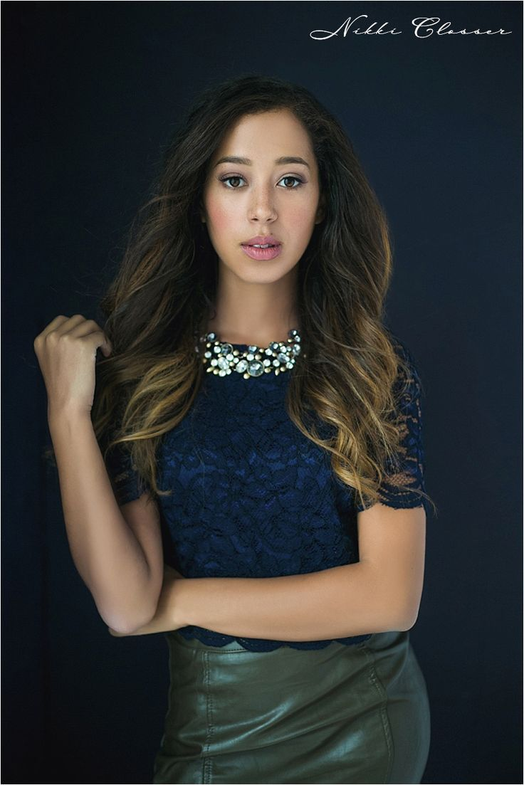 Flatter your shape and add a statement necklace. ~Pam (photo by Nikki Closser)