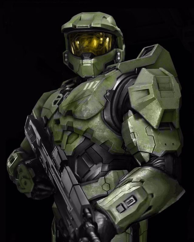 Master Chief Keeps His Helmet On In Halo 5: Guardians