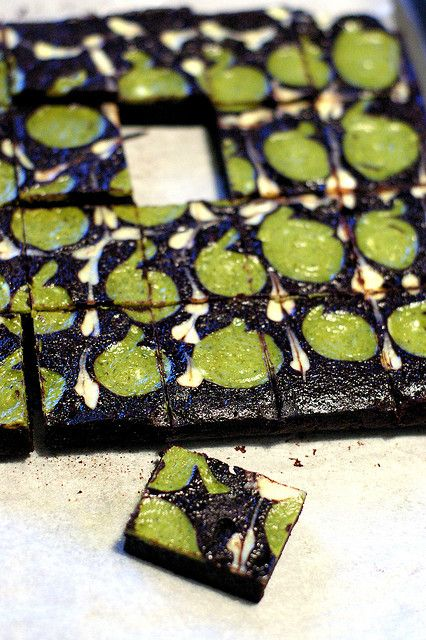 matcha brownie by Fresh From The Oven 606, via Flickr