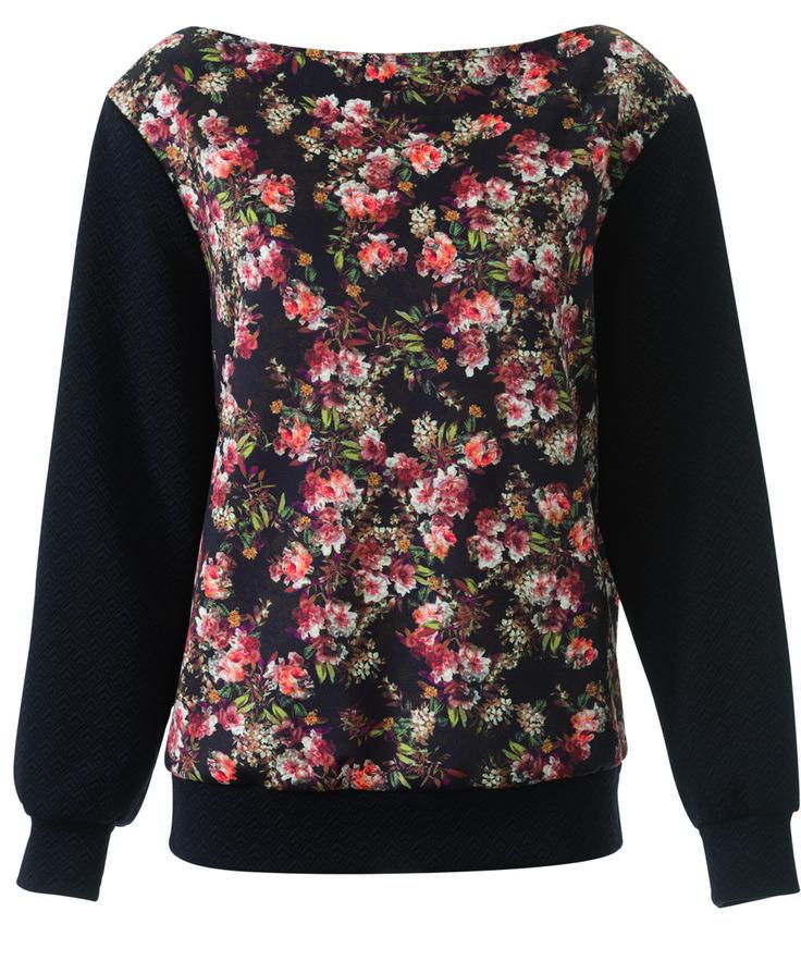 Пуловер - выкройка № 114 А из журнала 9/2014 Burda – выкройки пуловеров на Burdastyle.ru