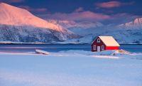 La splendida solitudine delle case perse nell'inverno
