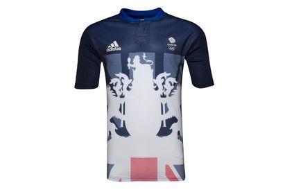 Team GB 2016 Olympics Alternate S/S Rugby Shirt
