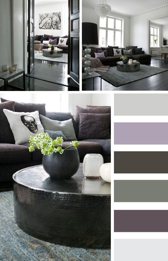Pure Living* Home: White - grey - smoky violett