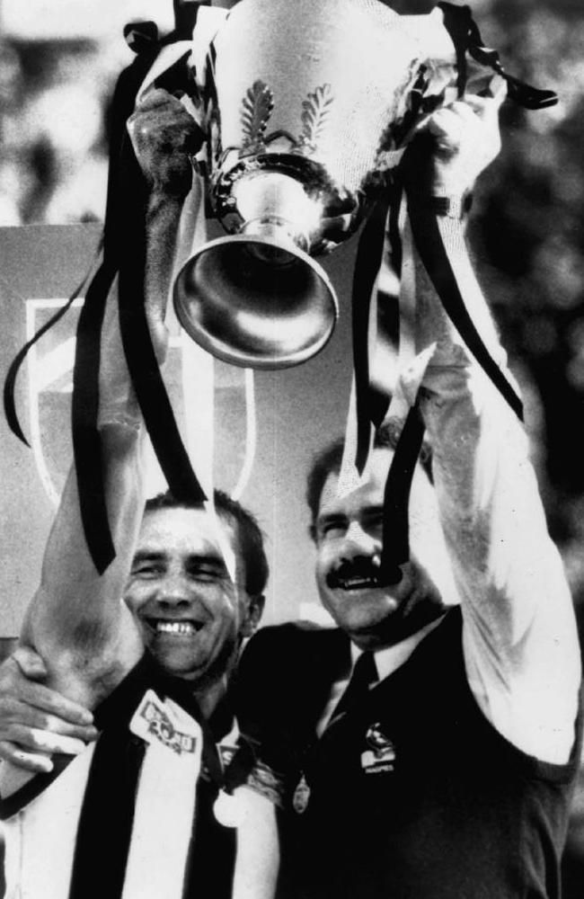 Collingwood book In Black and White: 10 significant events in the club's history | Herald Sun