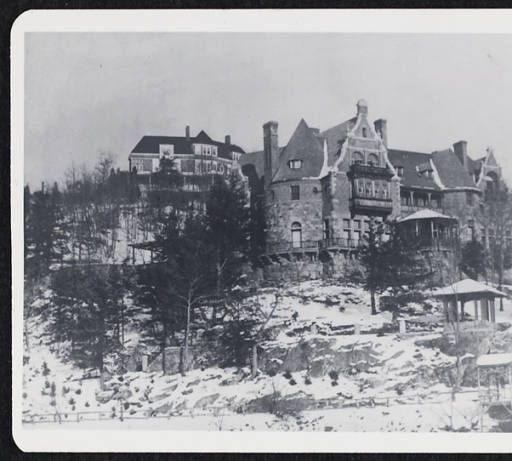 Mr. and Mrs. C. B. Alexander House in Tuxedo Park, N. Y. c. 1920.