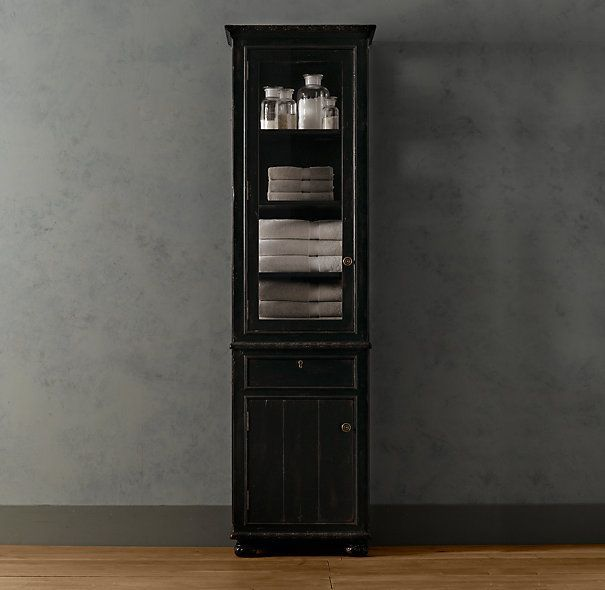 French Empire 84 Bath Cabinet In 2020 With Images Bathroom