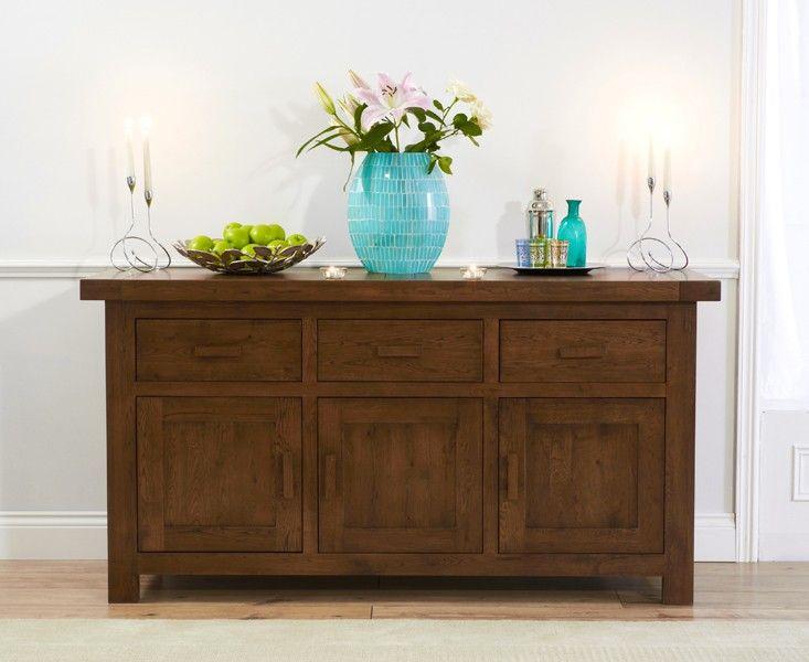 Buy the Bordeaux 170cm Dark Oak Sideboard at Oak Furniture Superstore