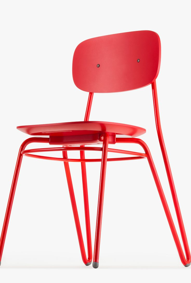 Broom chair for emeco in 2012 to showcase the properties of a new wood - Moth