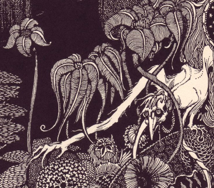 Harry Clarke's Poe Up Close - Tales of Mystery and Imagination by Poe
