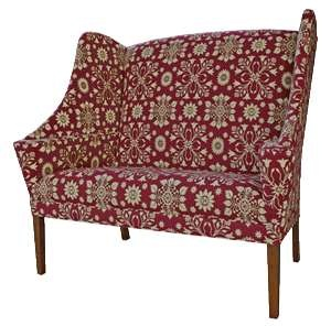 Primitive Colonial And Country Upholstered Furniture