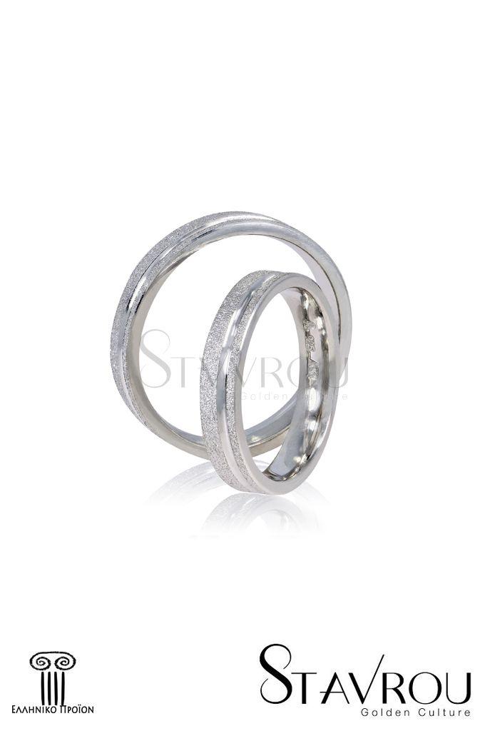Ασημένιες 925'επιπλατινωμένες βέρες γάμου αρραβώνα στα4.00 mm #βέρες_γάμου #βέρες_αρραβώνων #κοσμήματα_χαλάνδρι