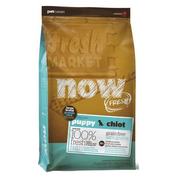 NOW FRESH Grain Free Large Breed Puppy Food, 25lb