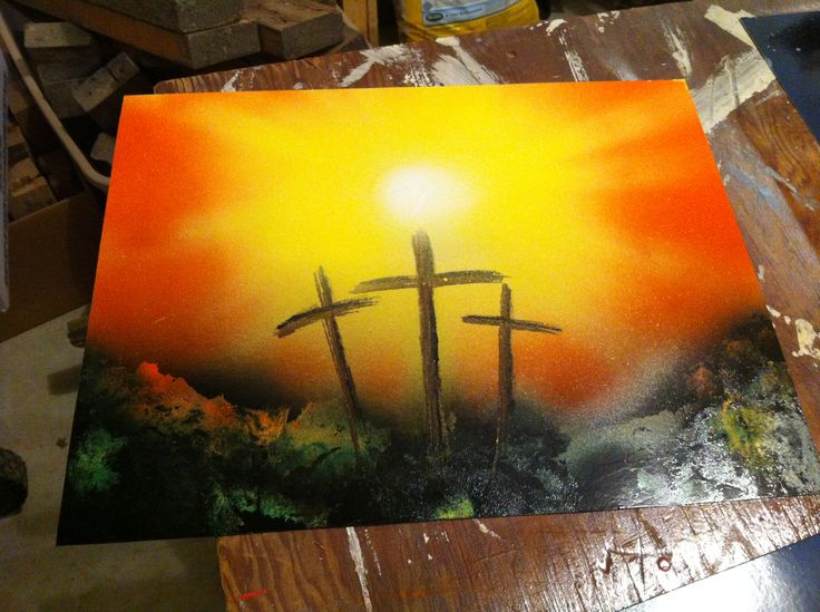 9 best crosses images on Pinterest | Painting art, Christian art and ...