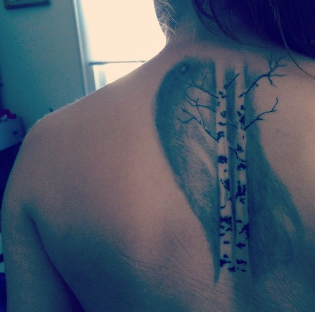 17 best ideas about birch tree tattoos on pinterest tree tattoos tree tattoo back and simple. Black Bedroom Furniture Sets. Home Design Ideas