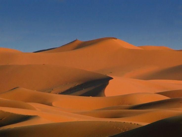 Les dunes de sable de Merzouga, la porte du désert.