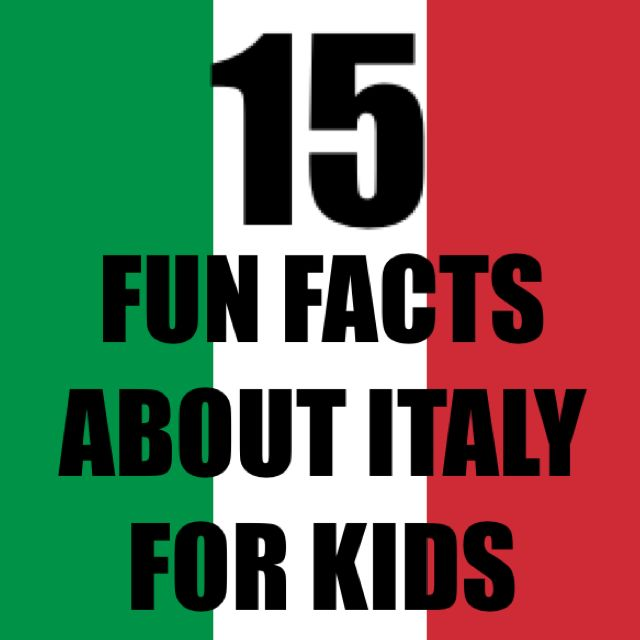 italy-facts-kids-rome