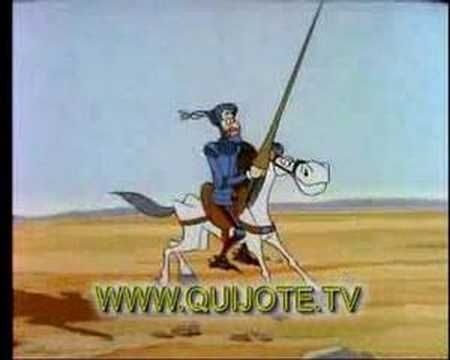 The story of Don Quijote for children