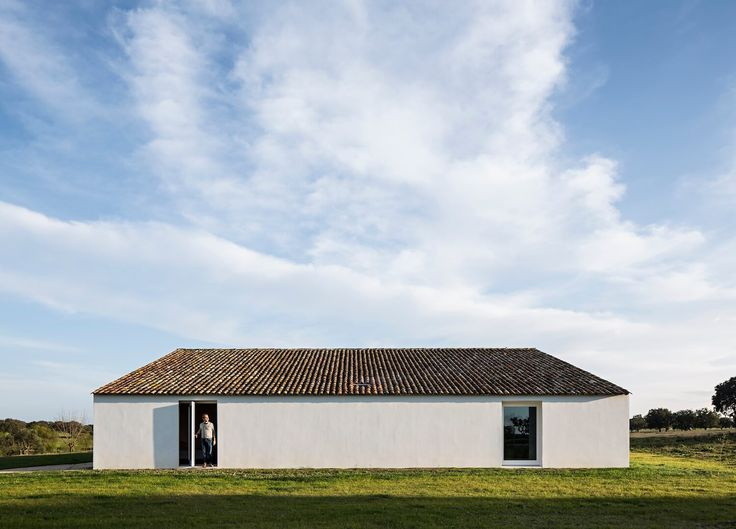 We visit Casa no Tempo, a luxury holiday home in Portugal's Alentejo region, where simple design and nature are the stars of the show