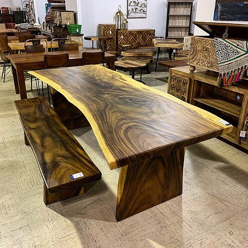 Live Edge Dining Table Live Edge Dining Table Dining Table
